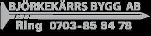 Björkekärrs Bygg AB logo